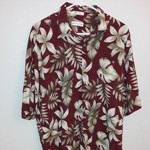 Pierre Cardin Tropical Shirt - Size Large